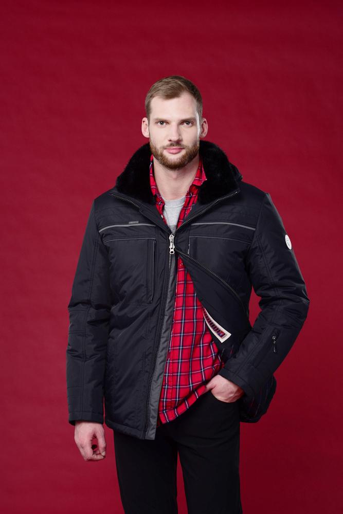 Куртка мужская зима 679ИМ AutoJack — фото 6