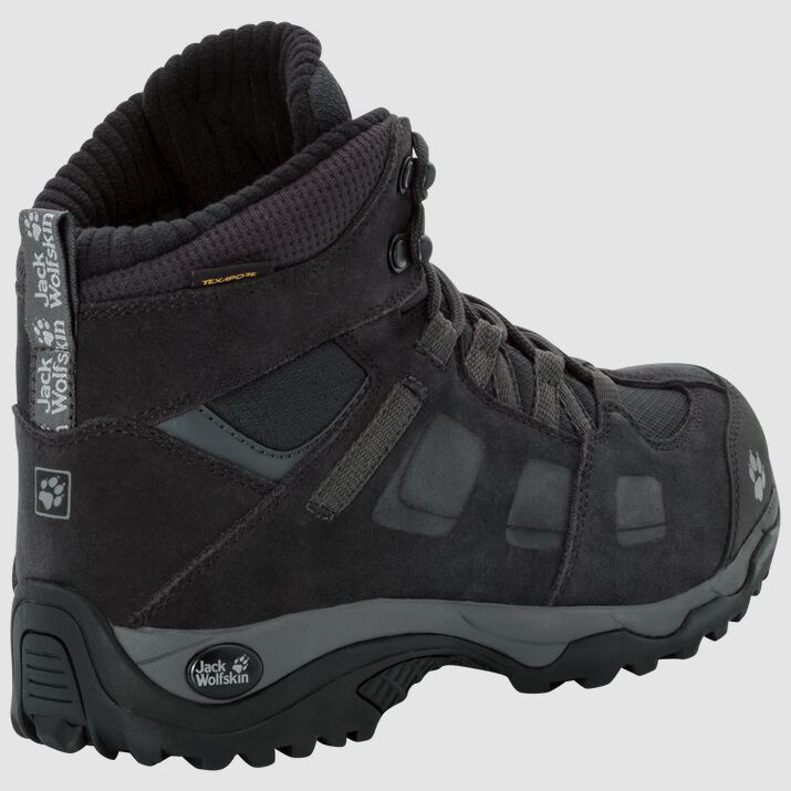 Ботинки женские VOJO HIKE 2 WT MID темно-серый Jack Wolfskin — фото 4
