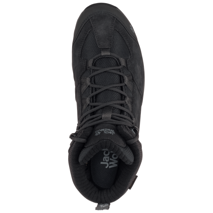 Ботинки женские VOJO HIKE 2 WT MID темно-серый Jack Wolfskin — фото 2