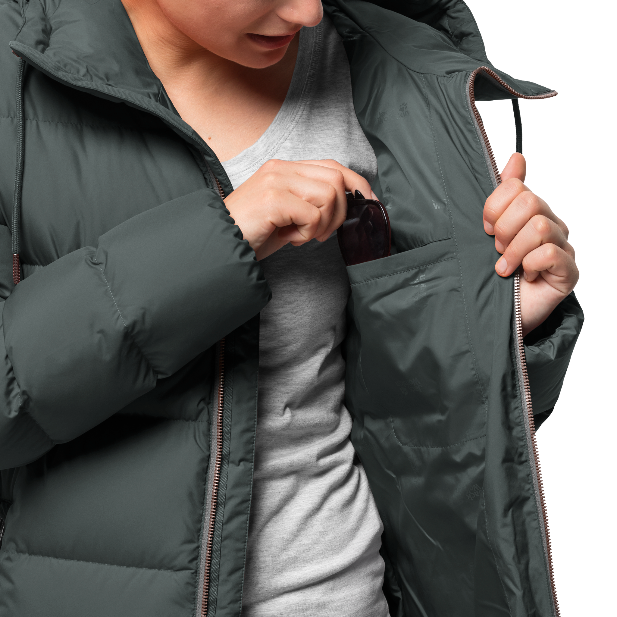 Куртка женская CRYSTAL PALACE COAT Jack Wolfskin — фото 4