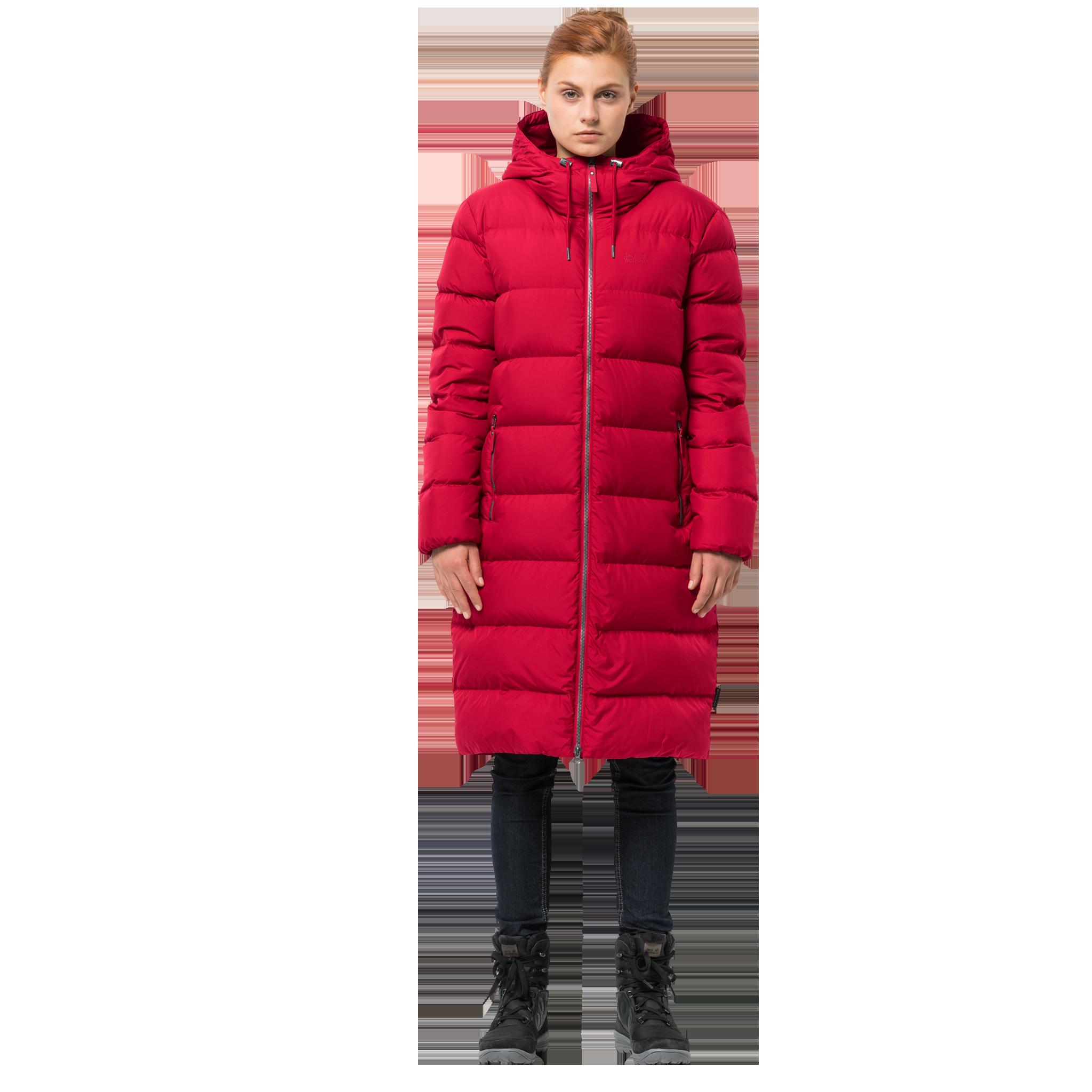 Куртка женская CRYSTAL PALACE COAT красный Jack Wolfskin — фото 2