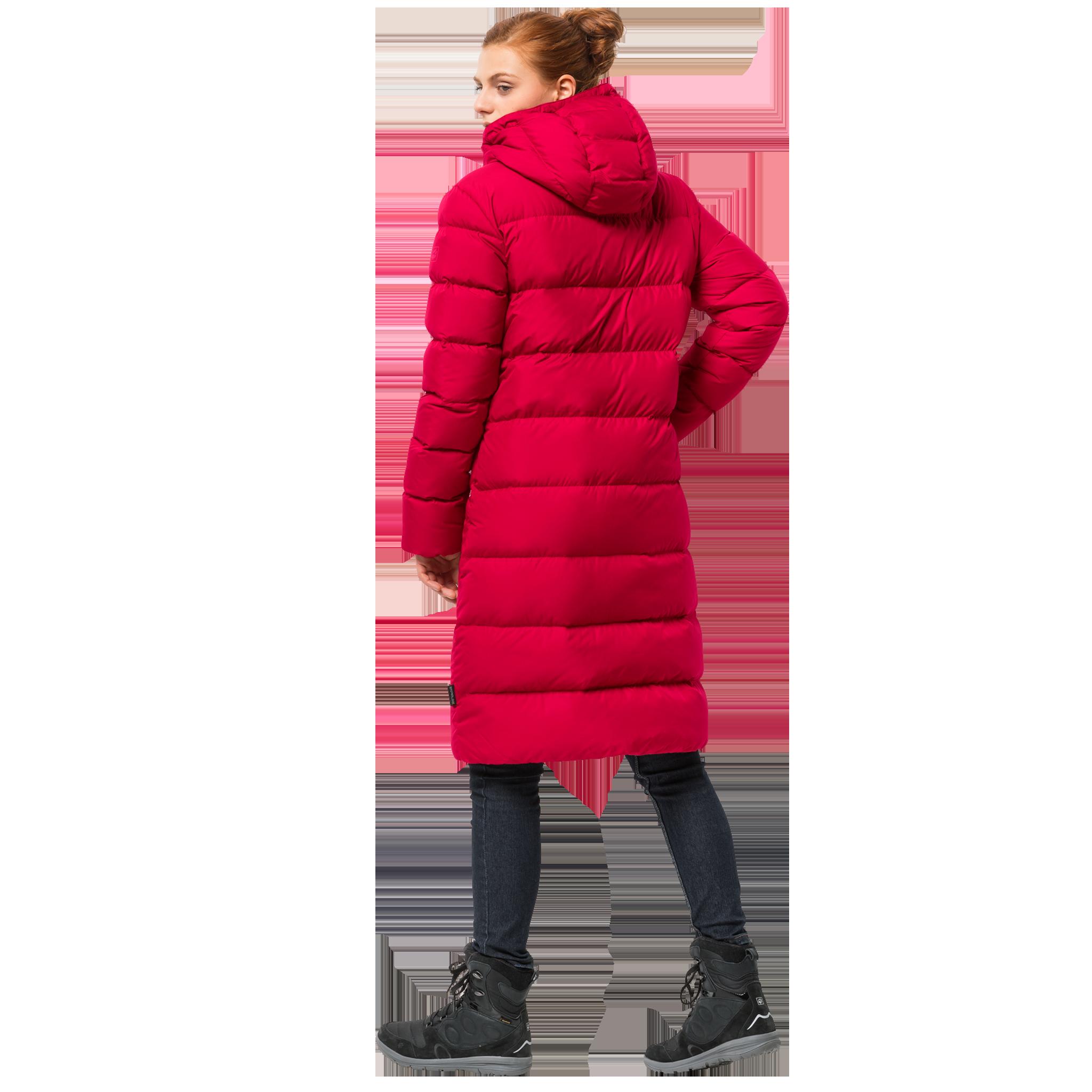 Куртка женская CRYSTAL PALACE COAT красный Jack Wolfskin — фото 3