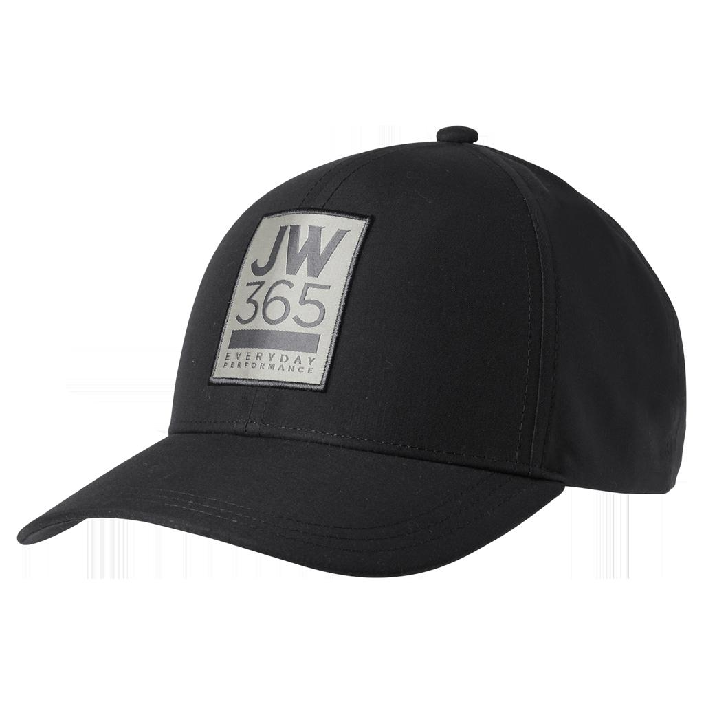 Бейсболка 365 BASEBALL CAP черный Jack Wolfskin — фото 1