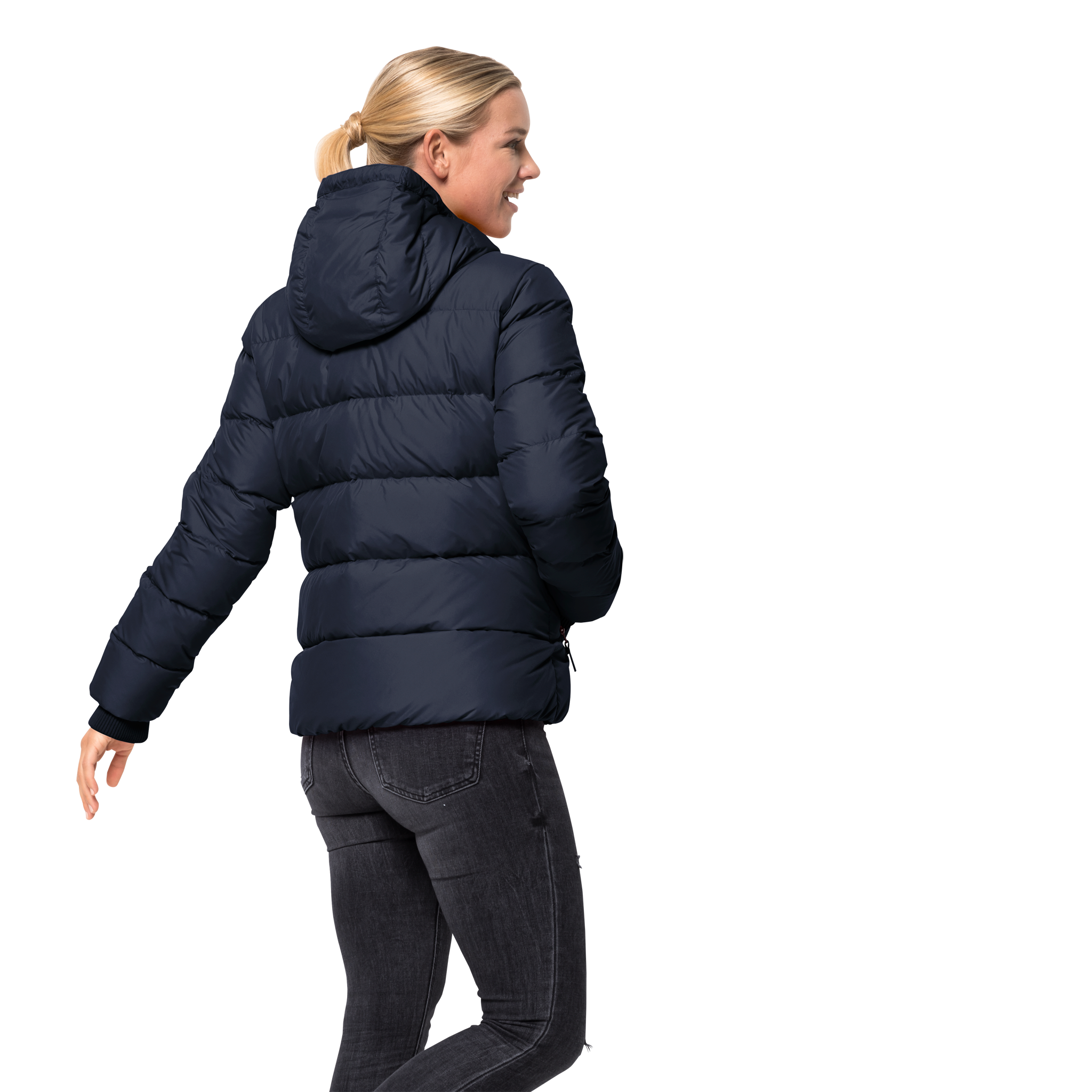 Куртка женская CRYSTAL PALACE JACKET синий Jack Wolfskin — фото 3