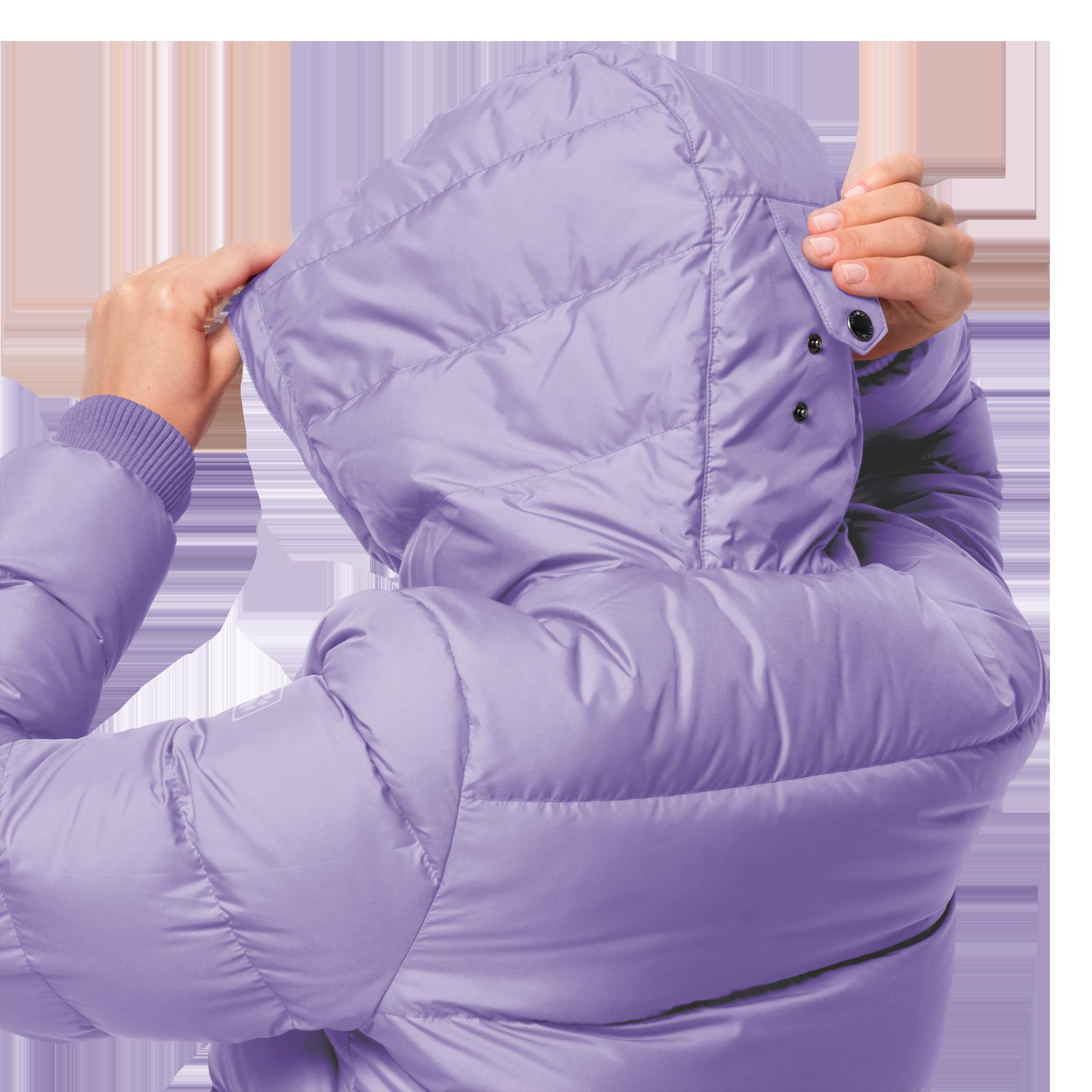 Куртка женская CRYSTAL PALACE JACKET сиреневый Jack Wolfskin — фото 4