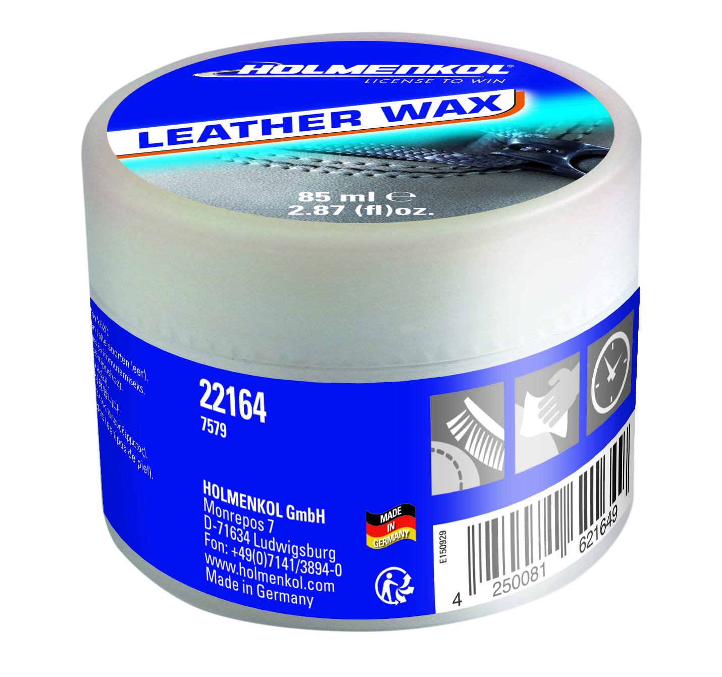Пропитка для обуви из кожи Leather Wax Holmenkol — фото 1