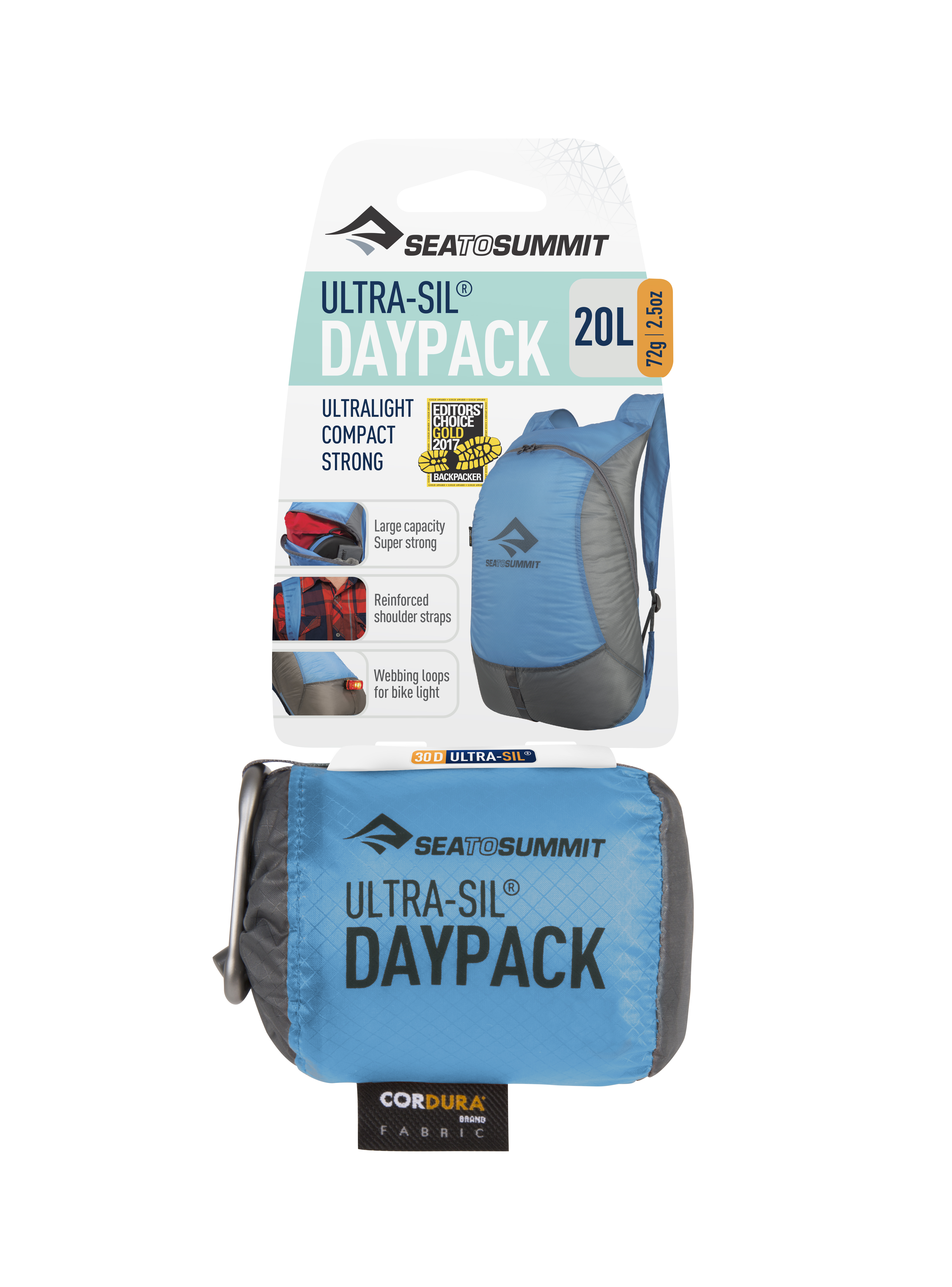 Рюкзак Ultra-Sil™ Day Pack (Голубой) Sea To Summit — фото 4