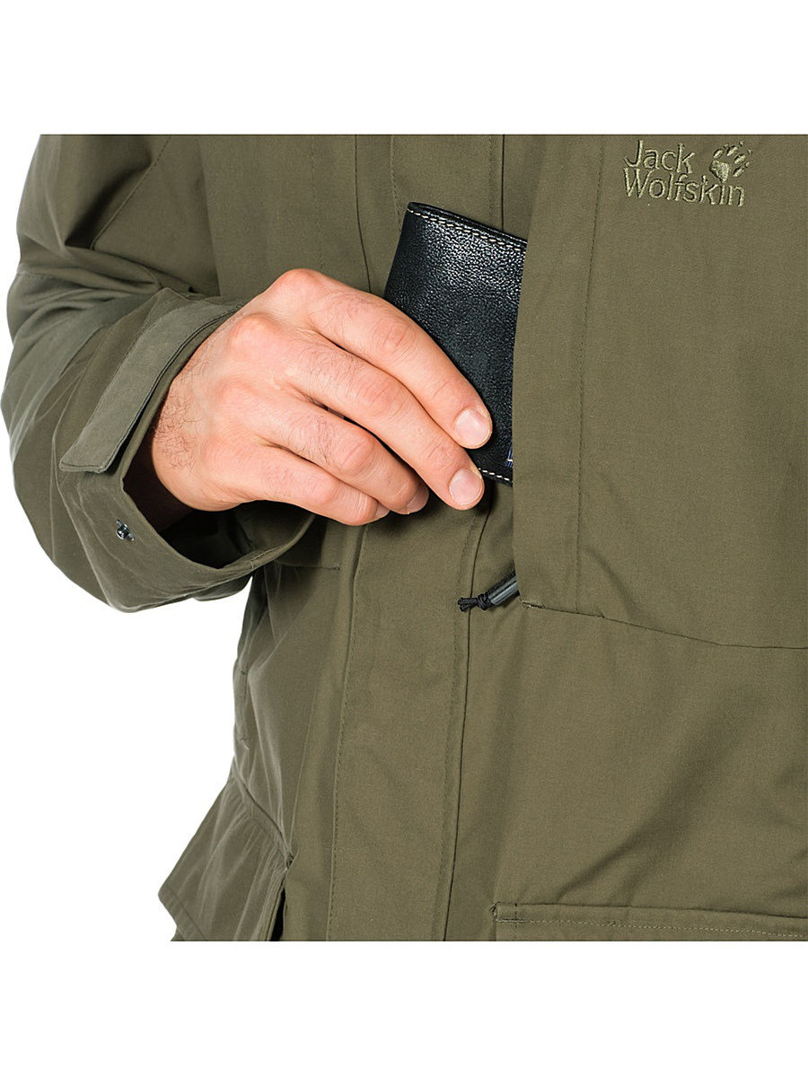 Куртка мужская STANLEY PARKA Jack Wolfskin — фото 10