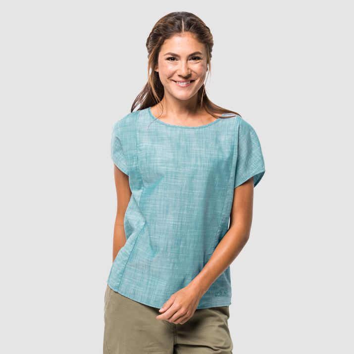 Рубашка женская EMERALD LAKE Jack Wolfskin — фото 2