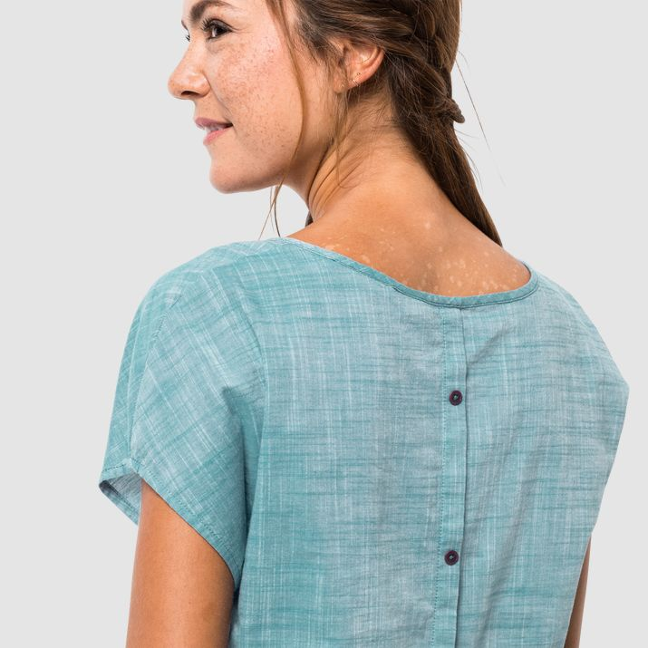 Рубашка женская EMERALD LAKE Jack Wolfskin — фото 4