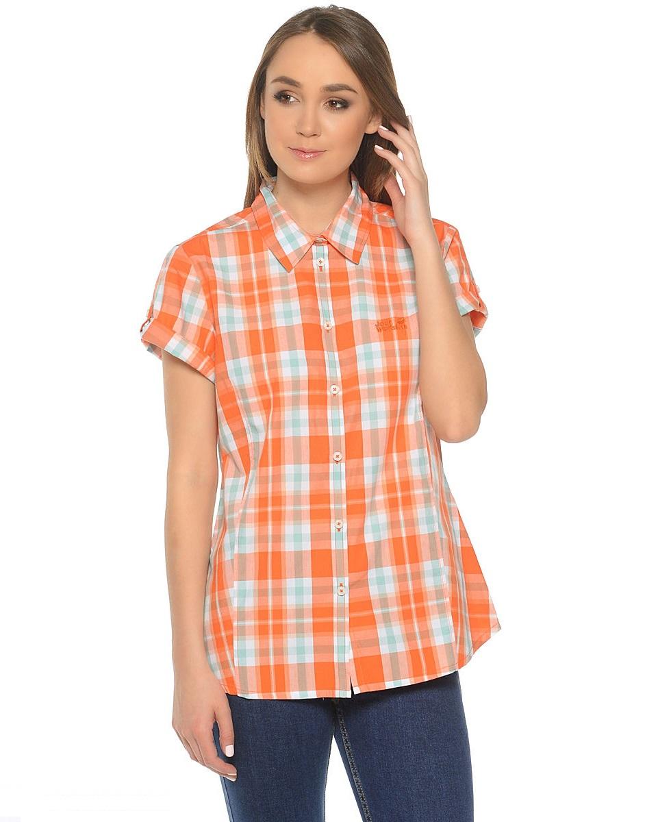 Рубашка женская AORAKI Jack Wolfskin — фото 6