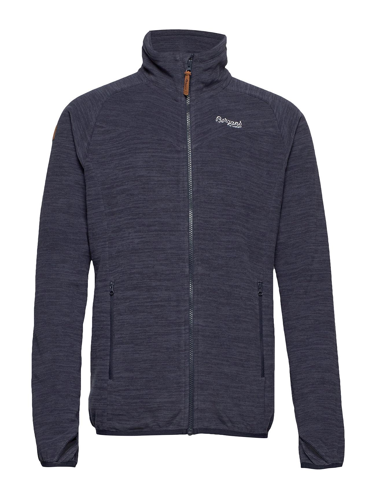 Куртка мужская флисовая Hareid Fleece Jkt NoHood Bergans — фото 2