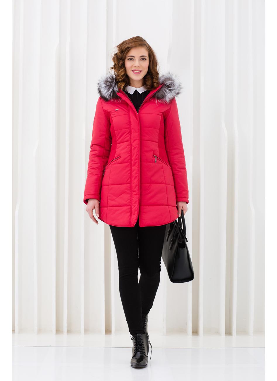 Куртка женская зима 833Ч/87 LimoLady — фото 7