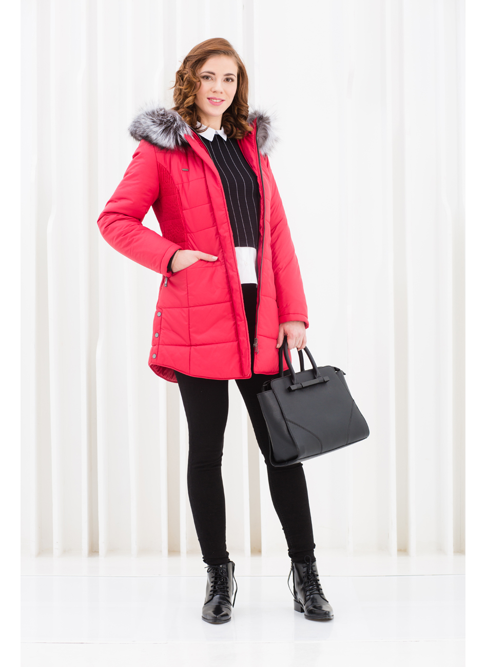 Куртка женская зима 833Ч/87 LimoLady — фото 6