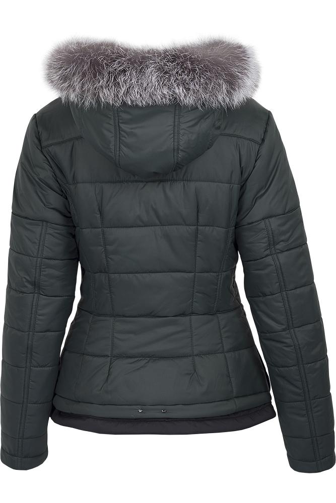 Куртка женская зима 882Ч/61 LimoLady — фото 7