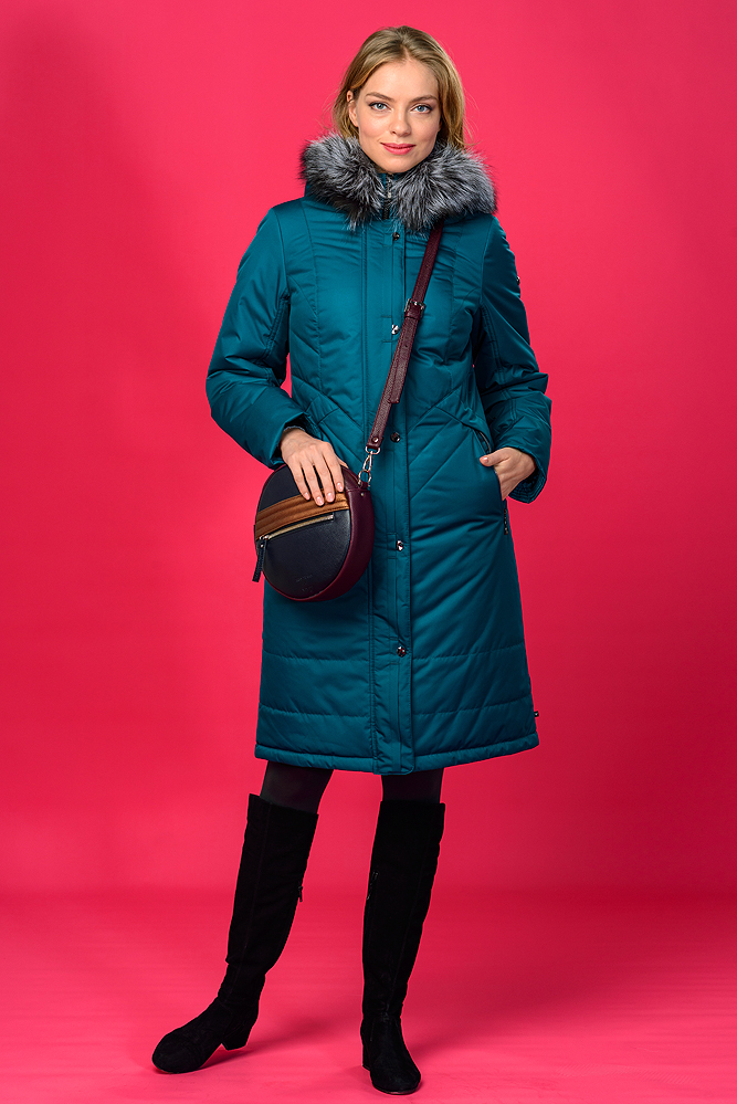 Куртка женская зима 949Ч/100 LimoLady — фото 6