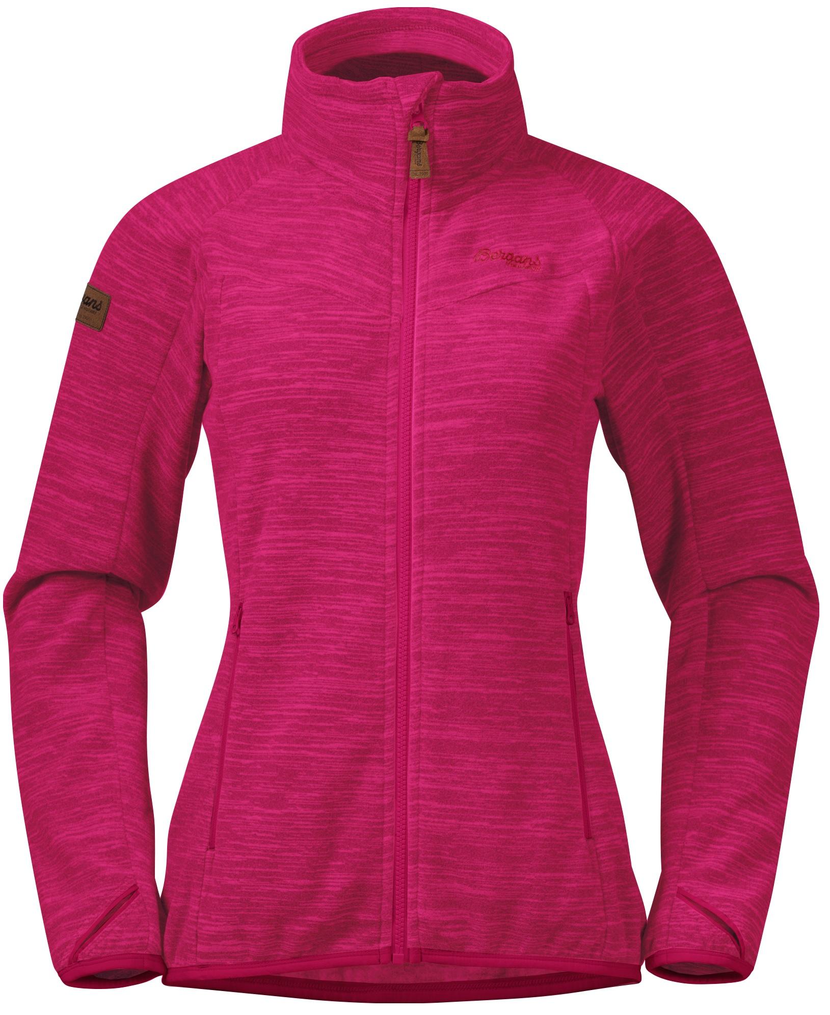 Куртка женская флисовая HAREID NOHOOD Bergans — фото 1