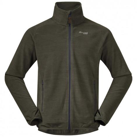 Куртка мужская флисовая Hareid Fleece Jkt NoHood Bergans — фото 1