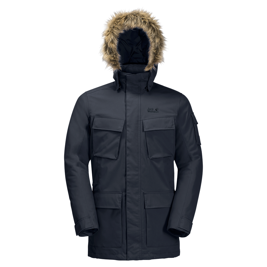 Куртка мужская GLACIER CANYON PARKA Jack Wolfskin — фото 1