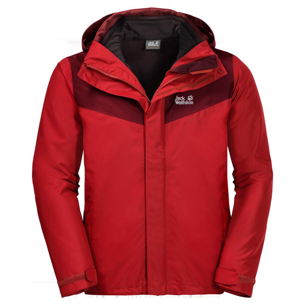 Куртка мужская ARLAND 3IN1 Jack Wolfskin — фото 1