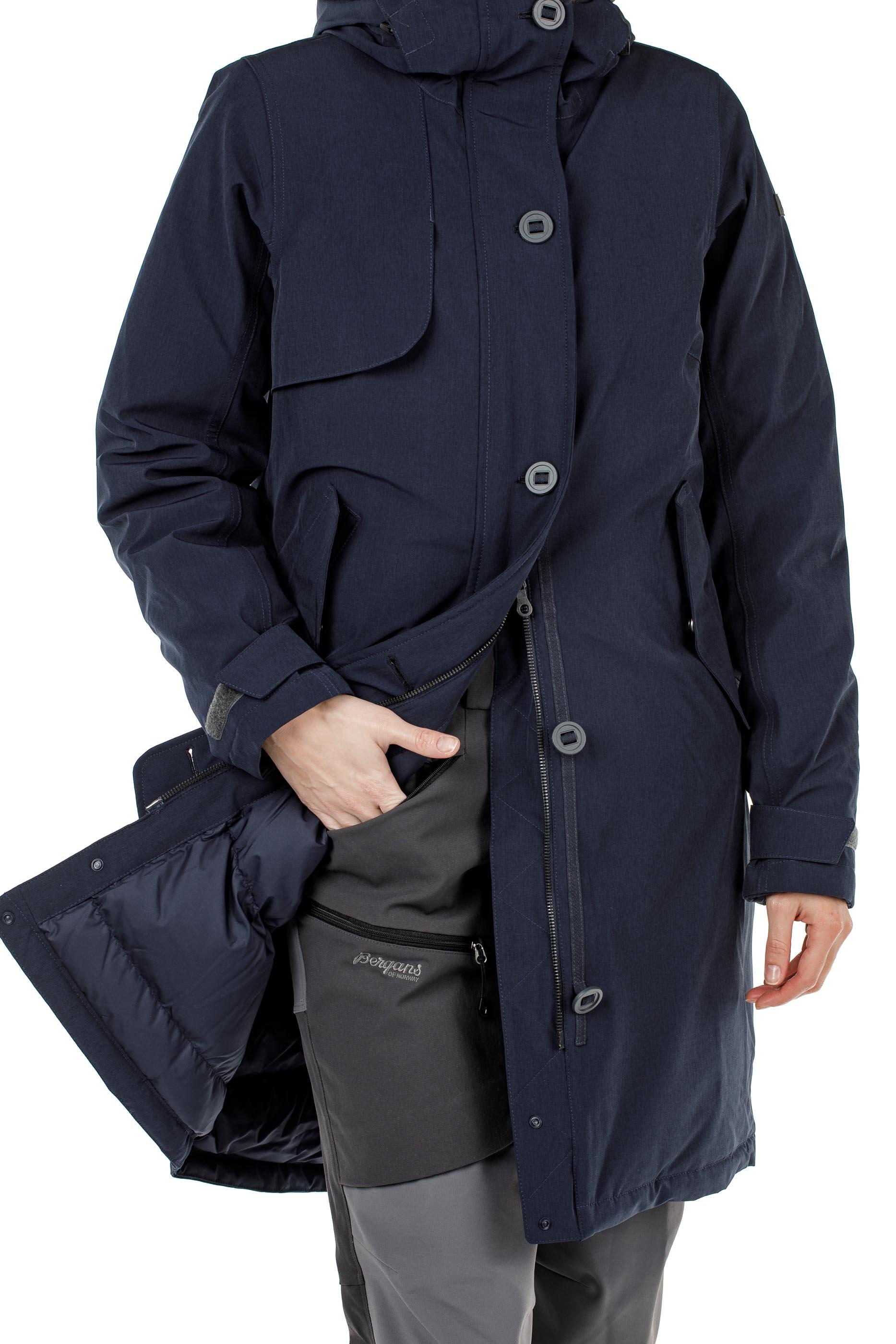 Куртка женская OSLO DOWN W PARKA Bergans — фото 5