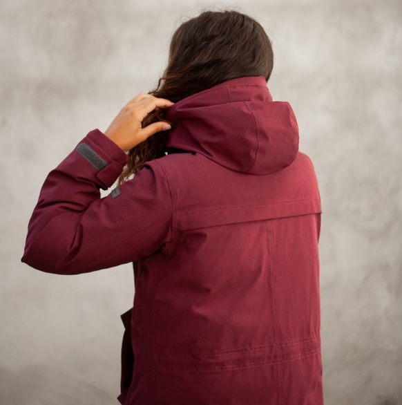 Куртка женская OSLO DOWN W PARKA Bergans — фото 10