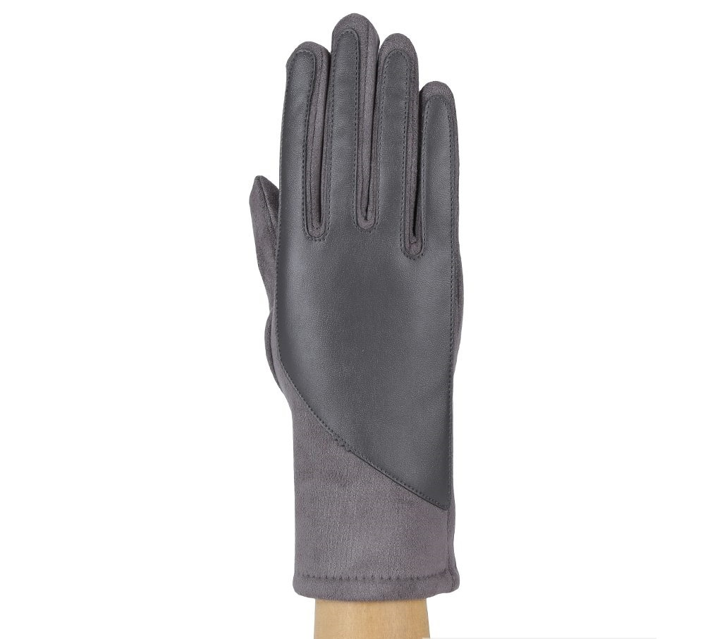 Перчатки женские FABRETTI HB2018-3-gray Fabretti — фото 1