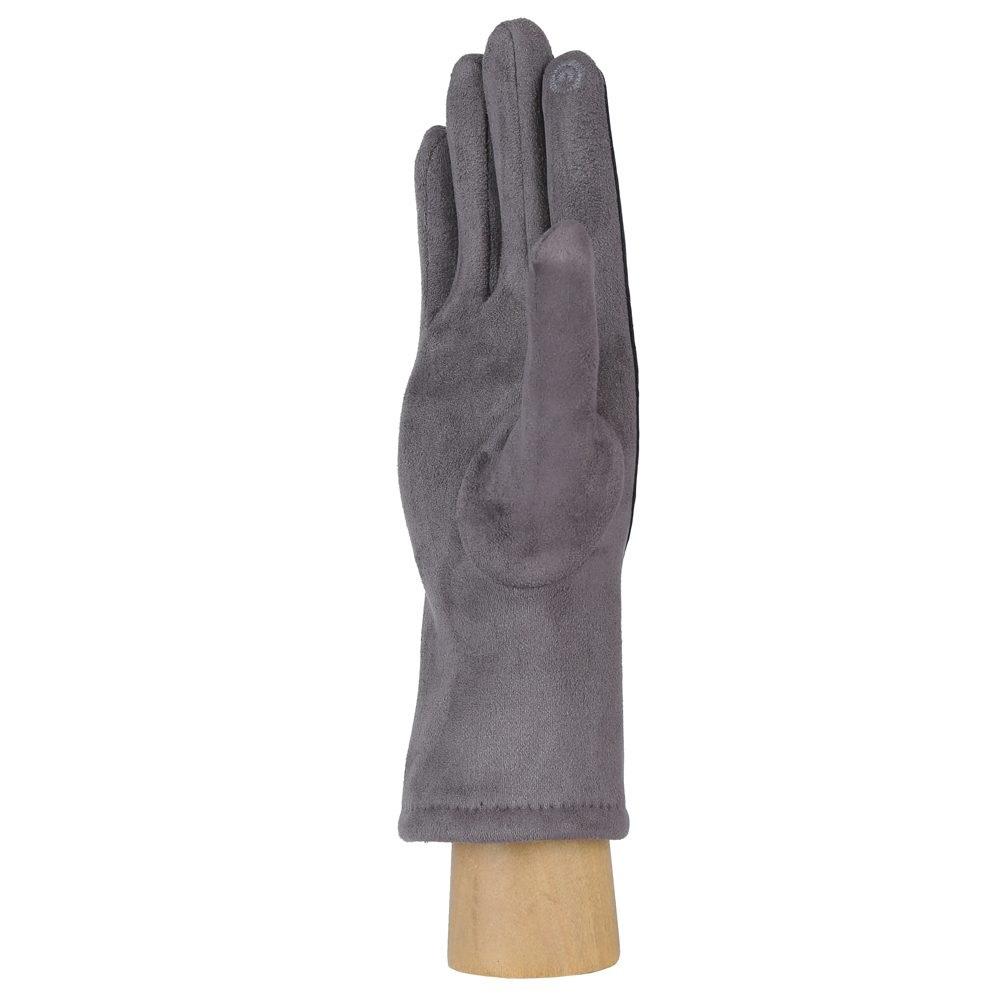 Перчатки женские FABRETTI HB2018-3-gray Fabretti — фото 2