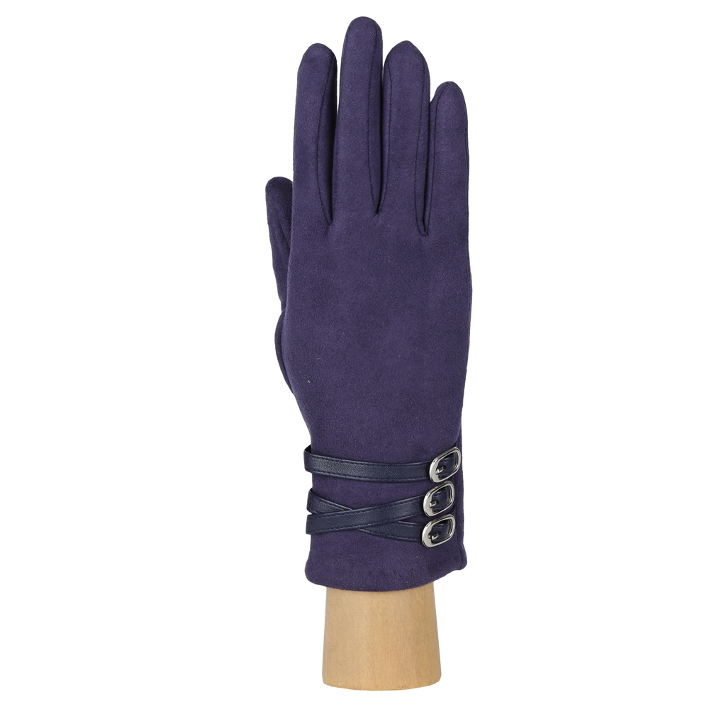 Перчатки женские FABRETTI HB2018-12-dark navy Fabretti — фото 2