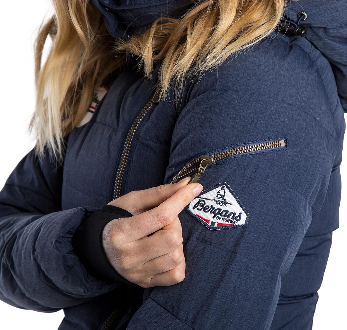 Куртка женская BODO DOWN LADY COAT Bergans — фото 7