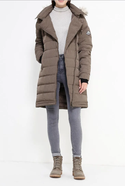 Куртка женская BODO DOWN LADY COAT Bergans — фото 11