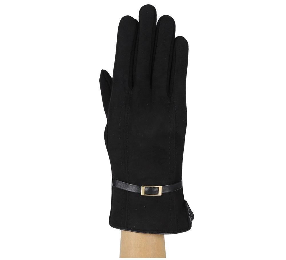 Перчатки женские FABRETTI HB2018-2-black Fabretti — фото 1