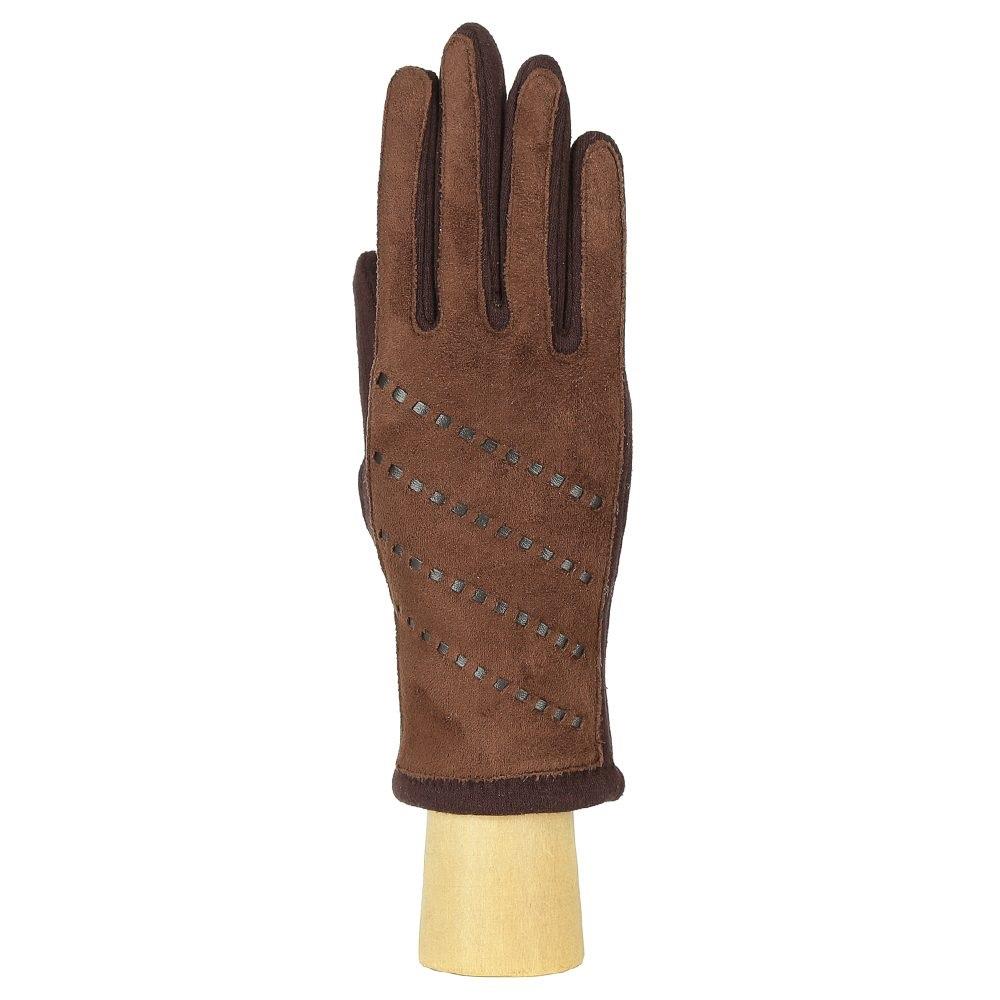 Перчатки женские FABRETTI HB2018-4-brown Fabretti — фото 1