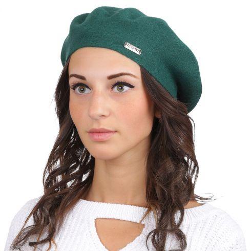 Берет женский FABRETTI S2017-3-green Fabretti — фото 1
