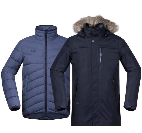 Куртка мужская SAGENE 3IN1 Bergans — фото 2