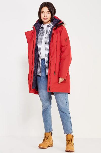 Куртка женская SAGENE 3IN1 LADY COAT Bergans — фото 3