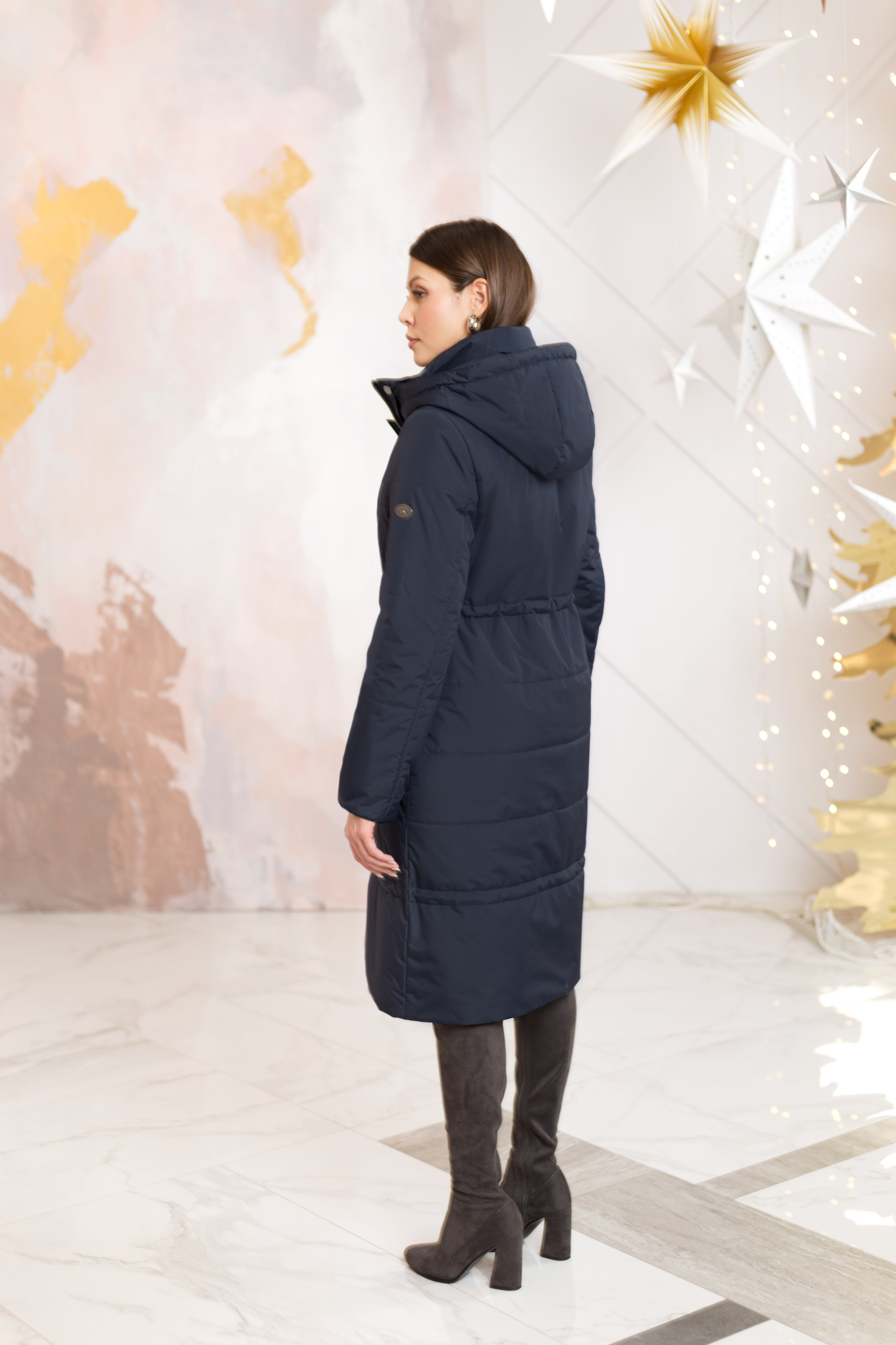Пальто женское зима 887 Nord Wind — фото 6