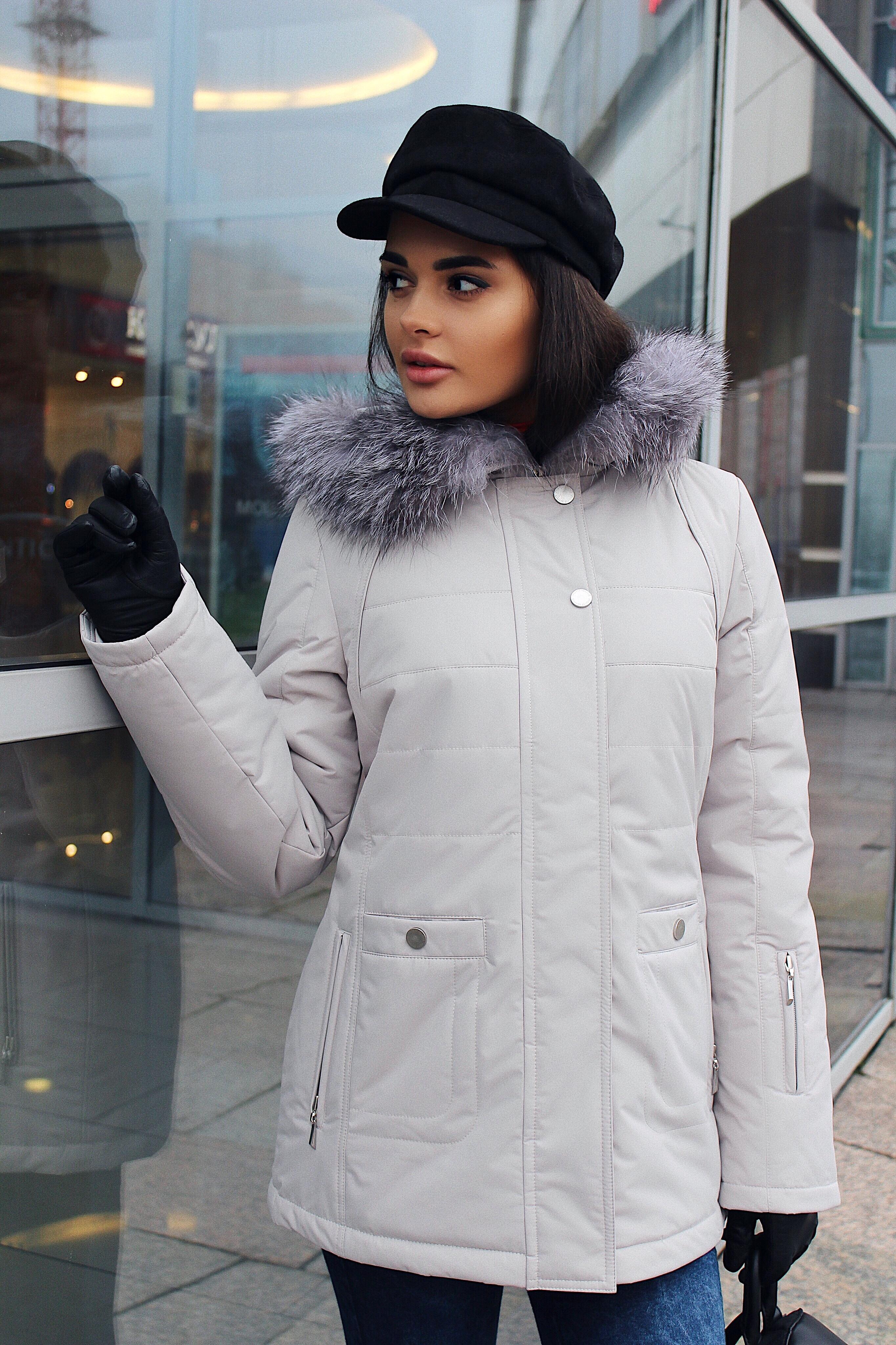 Куртка женская зима 811 Nord Wind — фото 3