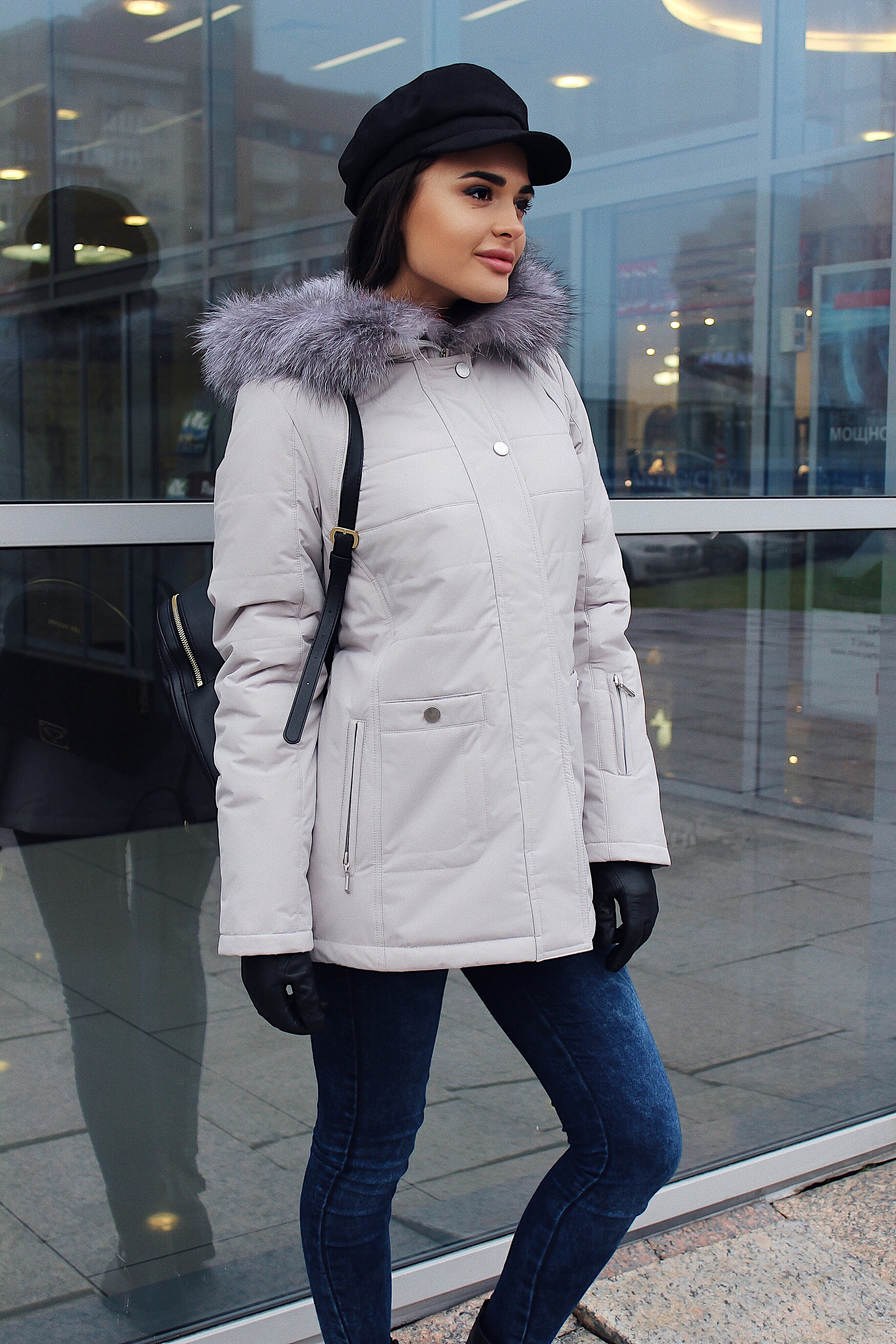 Куртка женская зима 811 Nord Wind — фото 4