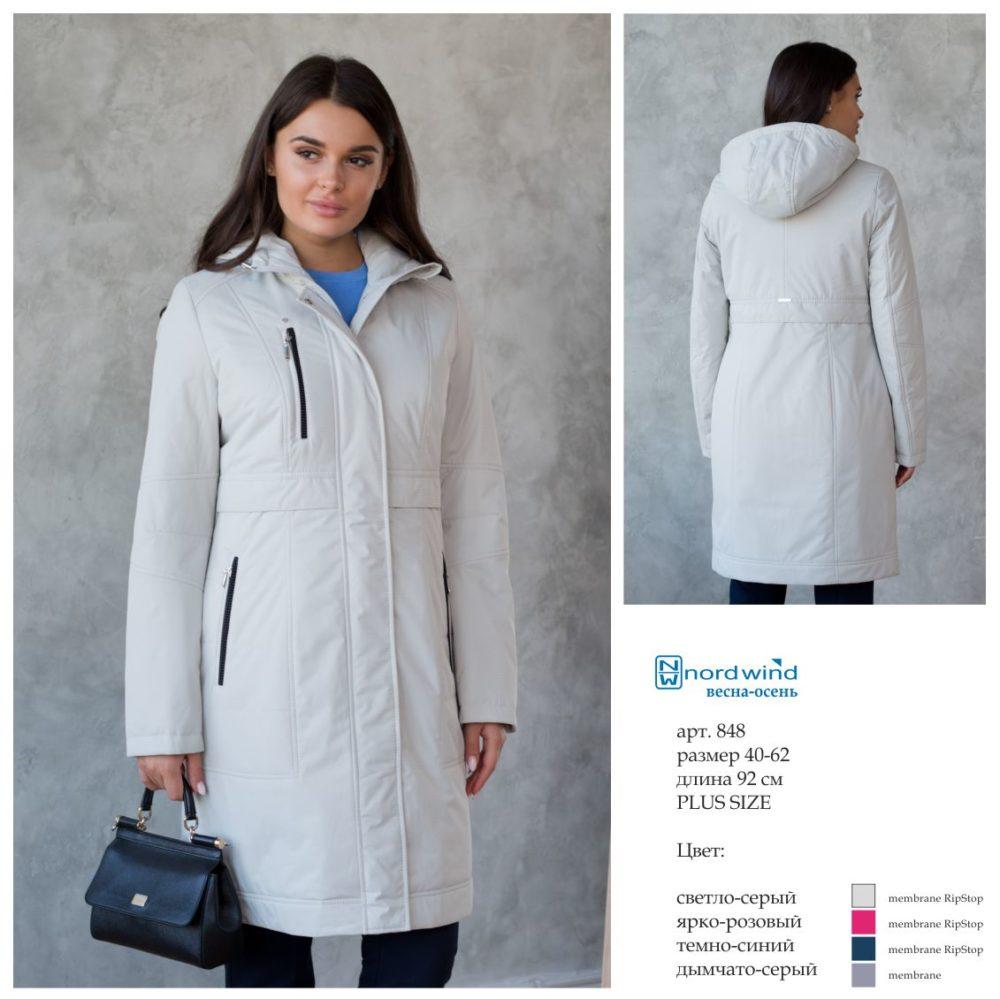 Пальто женское дс 848 Nord Wind — фото 2
