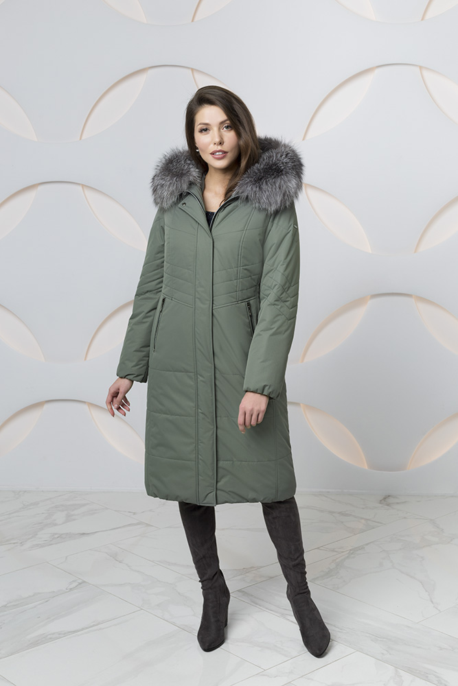 Пальто женское зима 861 Nord Wind — фото 4