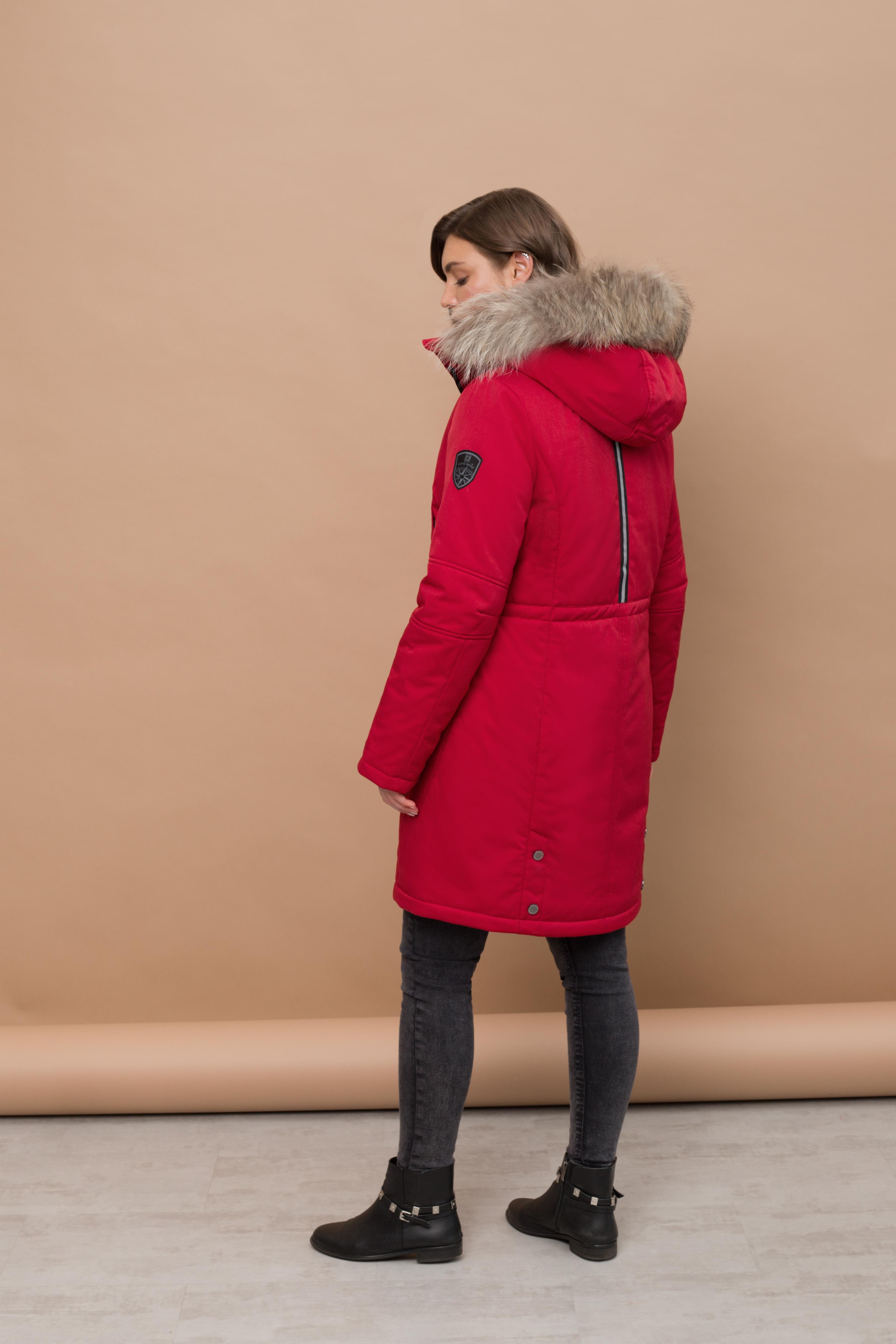Пальто женское зима 872Е Nord Wind — фото 4