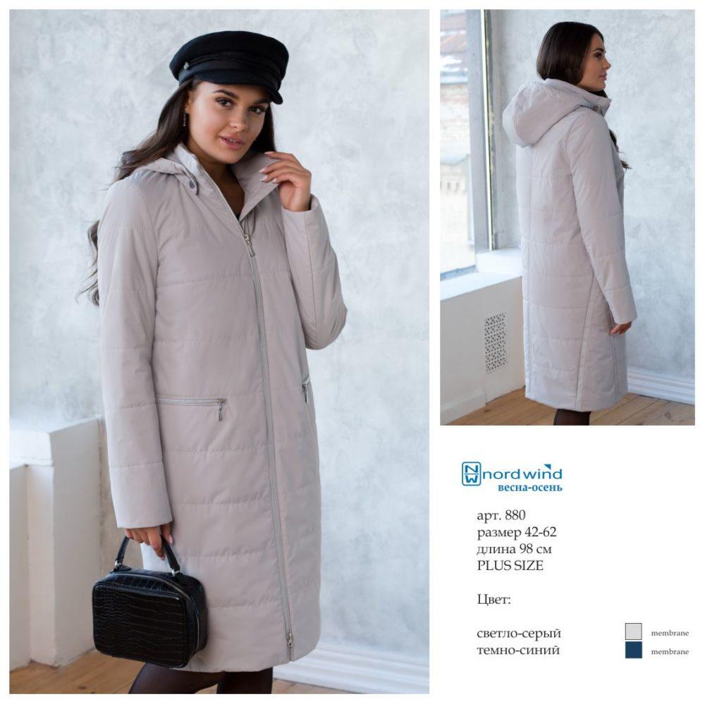 Пальто женское дс 880 Nord Wind — фото 6
