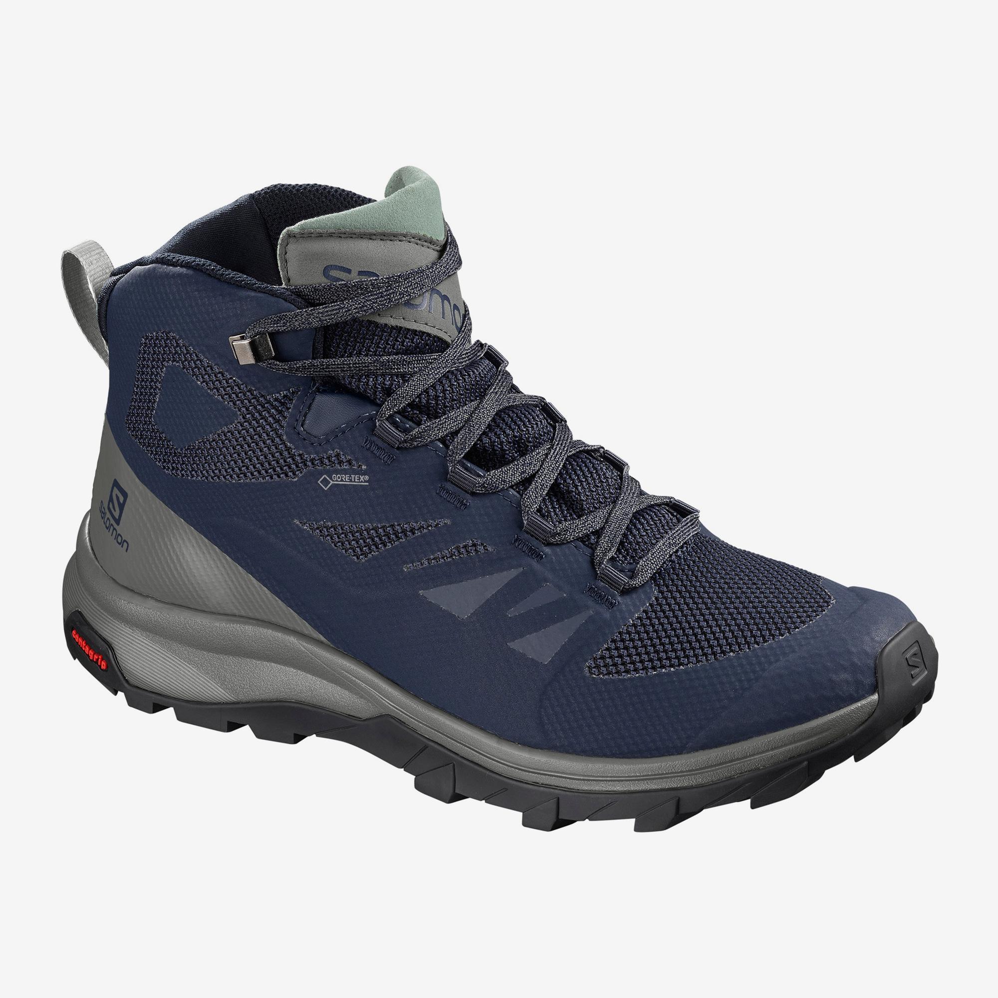 Ботинки мужские OUTline Mid GTX Salomon — фото 1