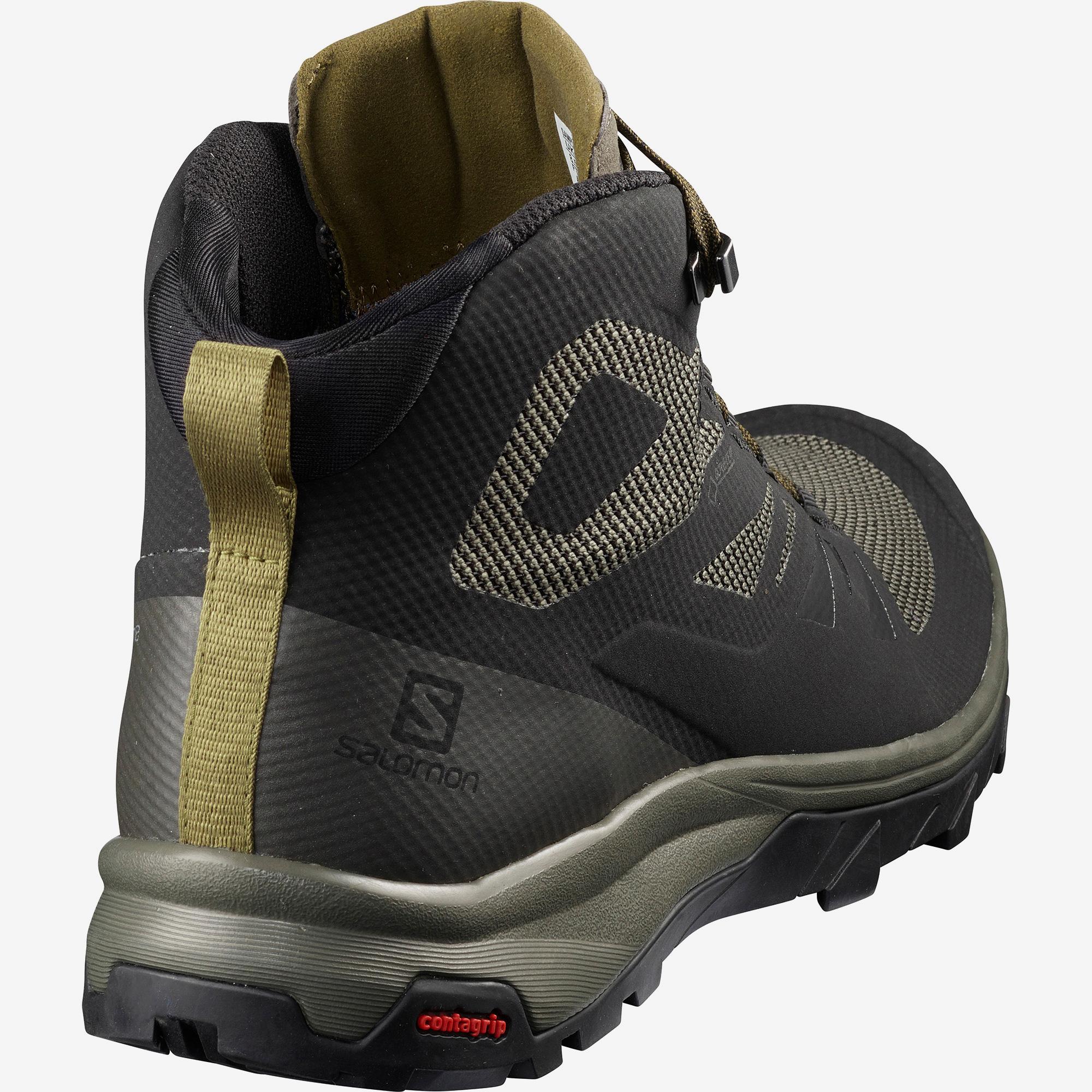 Ботинки мужские OUTline Mid GTX Salomon — фото 5
