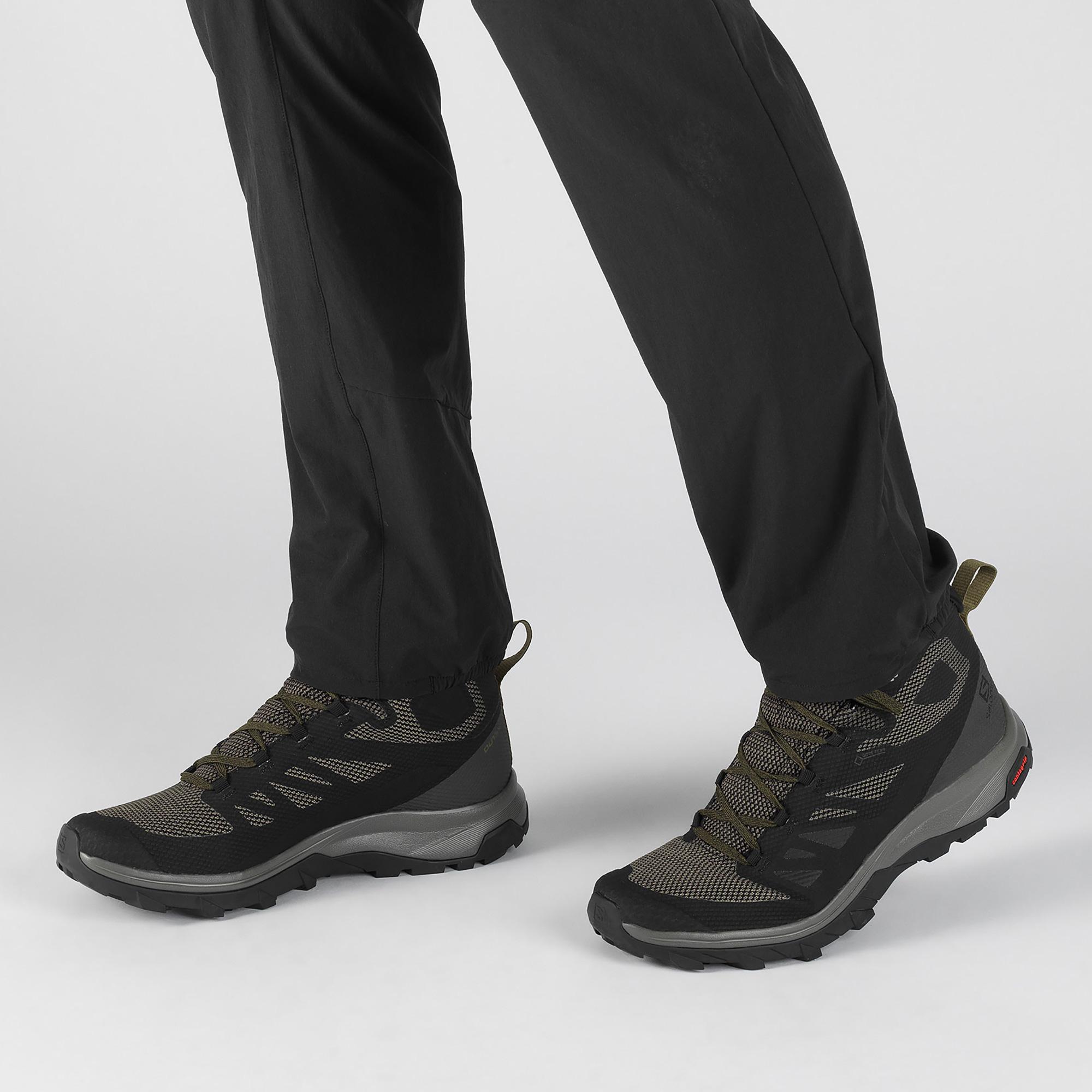 Ботинки мужские OUTline Mid GTX Salomon — фото 8