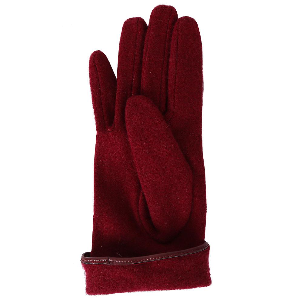Перчатки женские FABRETTI TH52-8 бордовый Fabretti — фото 2