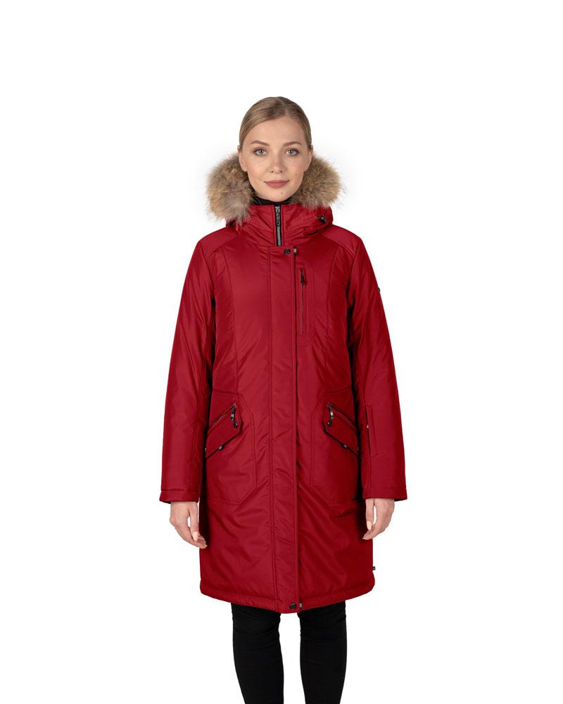 Куртка женская зима 3215Е/95 красный LimoLady — фото 1