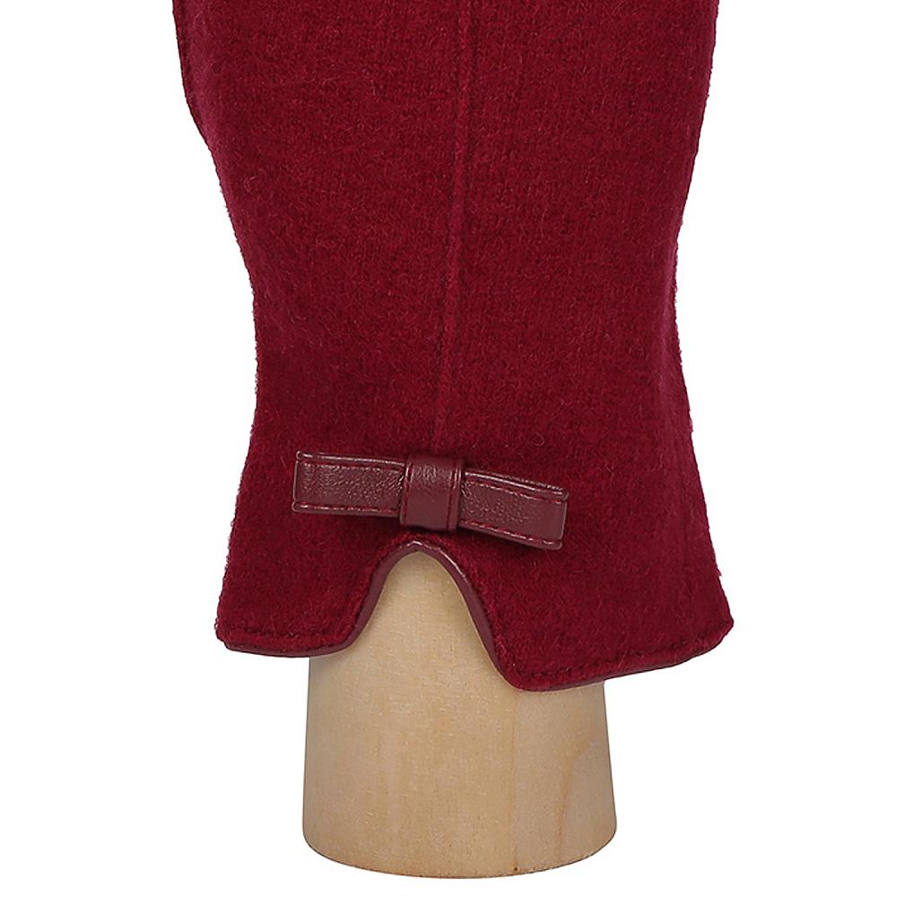 Перчатки женские FABRETTI TH52-8 бордовый Fabretti — фото 4