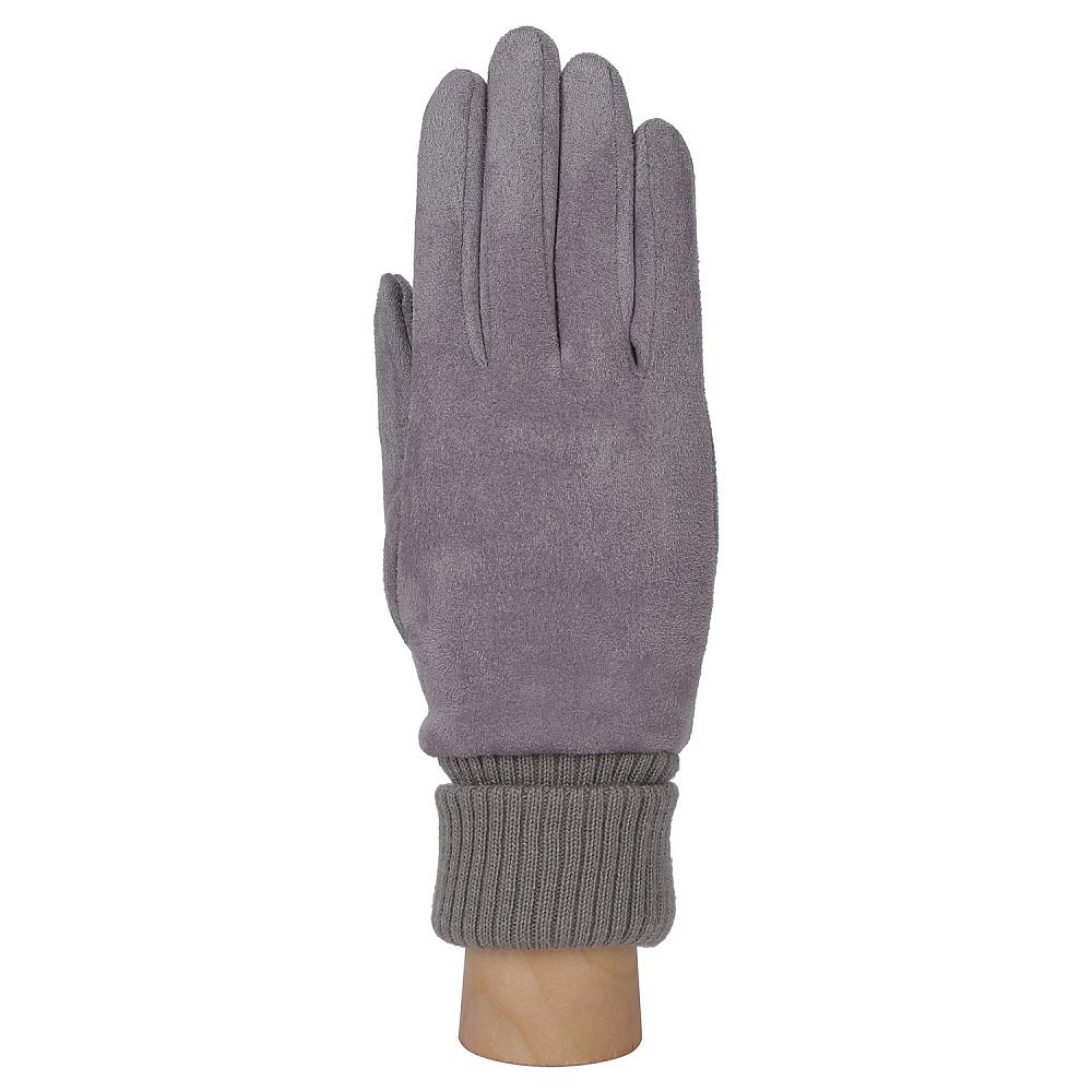 Перчатки женские FABRETTI TH55-39 серый Fabretti — фото 1
